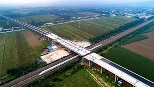 潍日高速转体桥